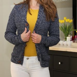 Express Button front sweater